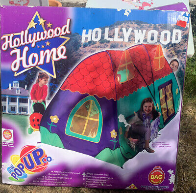 Kids Hollywood Home Pop Up Tent, New  • 4£
