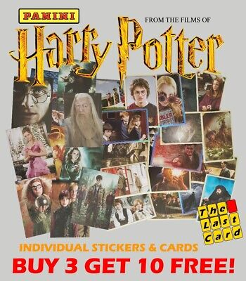 Panini Harry Potter Saga From The Films - Individual Stickers Buy 3 Get 10 Free! • 0.99£