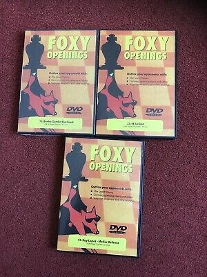 Foxy Openings Vol 110 Dvd Chess New Shrink Wrapped • 30£
