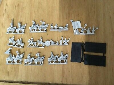 Games Workshop Warmaster Empire  Knights  With Bases Job Lot Unpainted • 18£