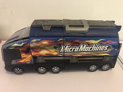Micro Machines Truck Lorry City Vintage Playset  2001 • 9.99£