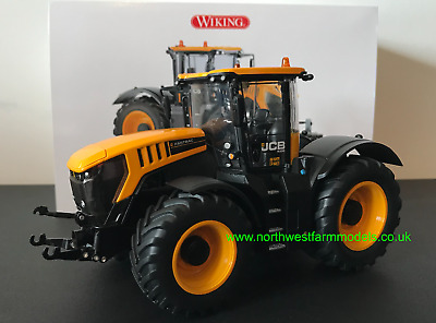 Wiking 1:32 Scale Jcb 8330 Tractor With Front Weight • 89.99£
