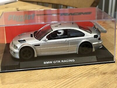 1/32 Flyslot BMW M3 GTR Racing Silver Collectors Car • 37.50£