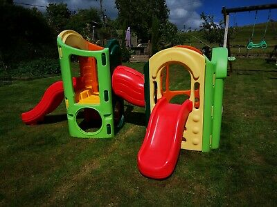 Little Tikes Playground 8 In 1 Climbing Frame, Slides, Tunnel, Used • 155£