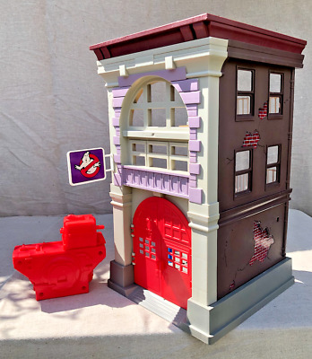 Real Ghostbusters Kenner Fire House Station HQ Vintage Play Set • 22£