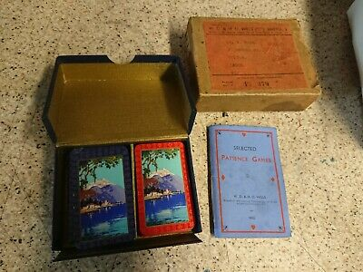Vintage 1933 Wills Cigarettes Boxed Patience Card Game • 9.50£