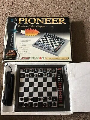 Pioneer Electronic Chess Computer No Manual  • 9.50£