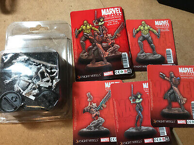 Knight Models Marvel Guardians Of The Galaxy Oop • 50£
