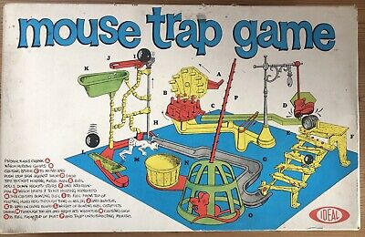 Retro Vintage Mousetrap Board Game. Boxed And Complete With Instructions • 7£