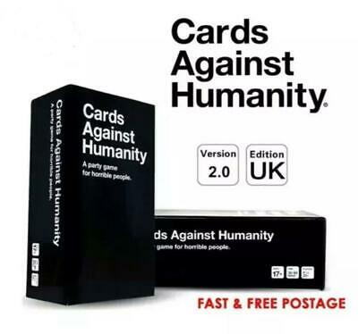 Cards Against Humanity UK V2.0 Latest Edition New Sealed 600 Cards  • 17.99£