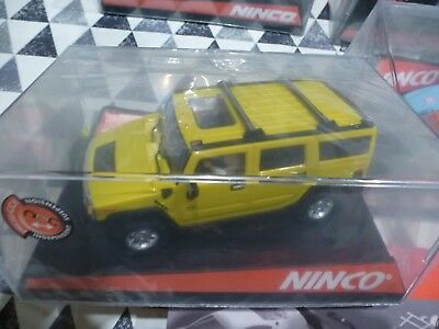 Ninco *NEW* 1/32 50457 Hummer H2 Yellow  For Collectors • 50£