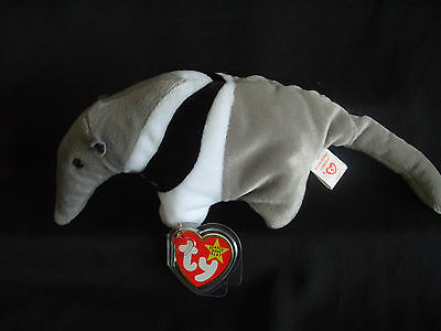 Ty Beanie Baby Ants - The Anteater  - Mint - Retired • 6.99£
