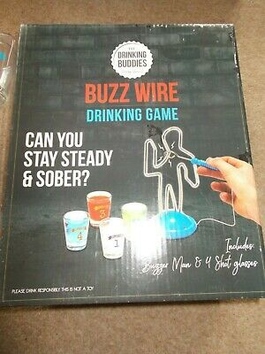 BUZZ WIRE Drinking Game - New • 2.99£