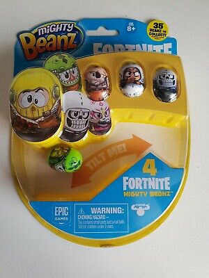Fortnite Mighty Beanz 4 Pack Series 1 Brand New • 7£
