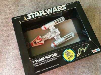 Star Wars Vintage Palitoy - Y-wing Fighter Diecast Toy With Box 1979 • 75£