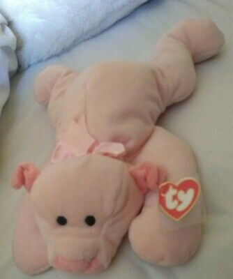 TY Pillow Pals Rare OINK Pig Plush Toy - New! • 17.99£