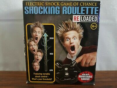Electric Shock Game Of Chance Shocking Roulette Game 14+ • 10.99£