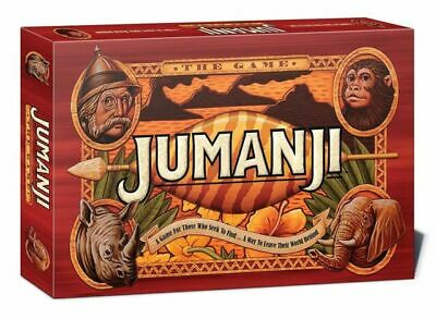 Jumanji Board Game Perfect Family Board Game Set For Kids/Children • 6.40£