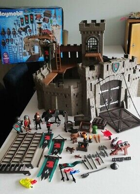 Playmobil Knights Castle 4866 With Box • 20£