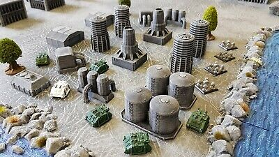 6mm Space Marine Epic Industrial Pack 1 (15 Pieces) Painted • 32.20£