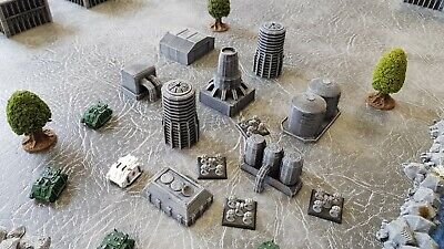 6mm Space Marine Epic Industrial Pack 2 (8 Pieces) Painted • 18.55£