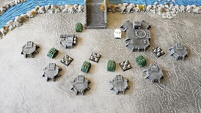 6mm Space Marine Epic Military Pack 1 (8 Pieces) Painted • 15.60£