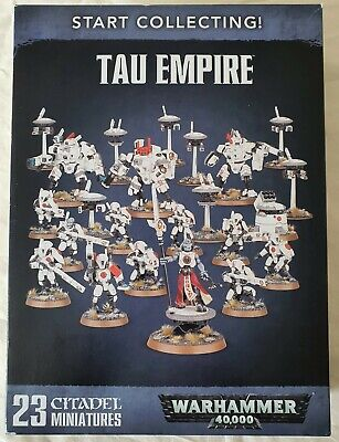 WARHAMMER 40,000 40K - Tau Empire Start Collecting Set, NEW! • 26£