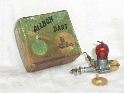 A BOXED,USED, ALLBON  DART  0.5cc, AERO DIESEL ENGINE, IN LOVELY CONDITION • 50£