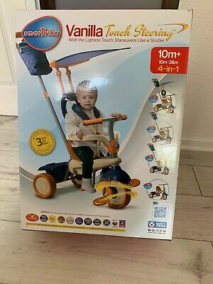 SmarTrike 4 In 1 Vanilla With Touch Steering BRAND NEW • 23.70£