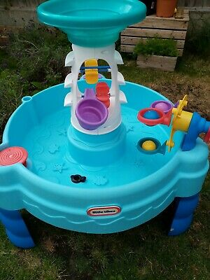 LITTLE TIKES WATER TABLE OUTDOOR GARDEN KIDS VERY GOOD Condition Hardly Used!  • 19£