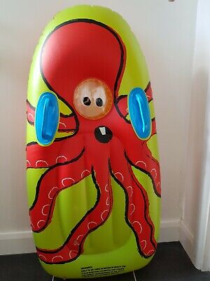 Tesco Inflatable Pool Beach Wave Board - Octopus • 3.49£