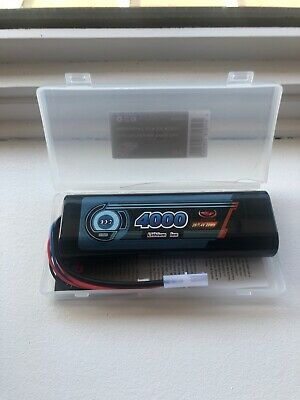 2s 4000 Mah Round Cased Lipo Battery • 20£