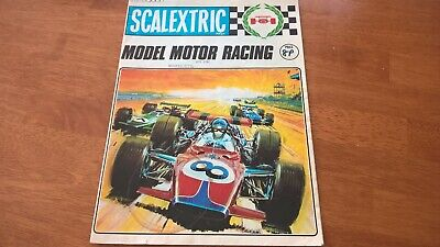 Scalextric 1971 Catalogue 12th Edition V/Good Condition  Slot Cars  • 12.50£