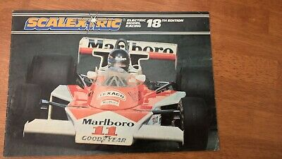 Scalextric 1977 Catalogue 18th Edition RARE ! V/Good Condition 1/32  • 5£