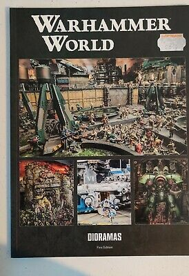 Warhammer World Dioramas Book, First Edition Brand New • 3.20£