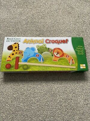 Toddler Animal Croquet Set Brand New! • 3£
