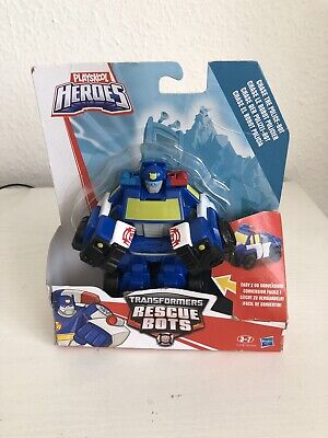 Playskool Heroes Transformers Rescue Bots Academy Chase The Police-Bot • 9.50£