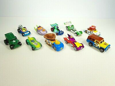 Tomica And Hotwheels Toystory Diecast Cars Bundle. Import. Rare. Used. • 9.99£