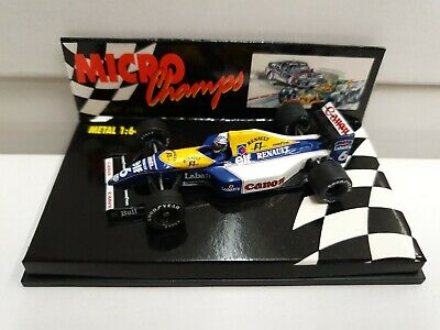 RARE Williams FW14B Patrese GP Silverstone 1992 1:64 Minichamps • 24.95£
