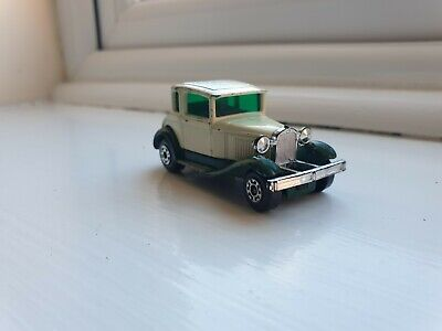 """Vintage Matchbox No 73 Model A Ford Toy Car """"Superfast"""" 1979 Lesley Products • 5£"""
