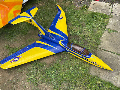 Rc Plane Fly Cat Pusher Jet Used • 50£