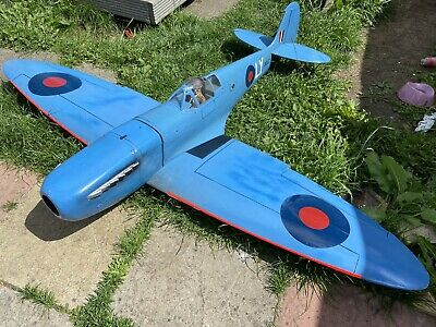 """Rc Plane 72"""" Spitfire Airframe And Retracts • 125£"""