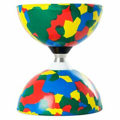 4 Colour Juggle Dream Jester Bearing Diabolo (COMES WITHOUT STICKS) • 16.99£