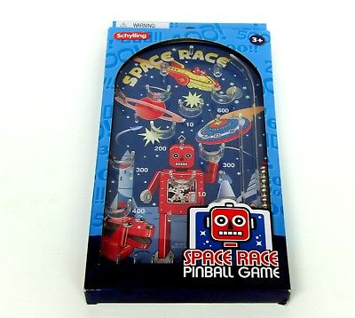 Space Race Pinball Game Schylling Bagatelle Retro Classic WD156 • 6.99£