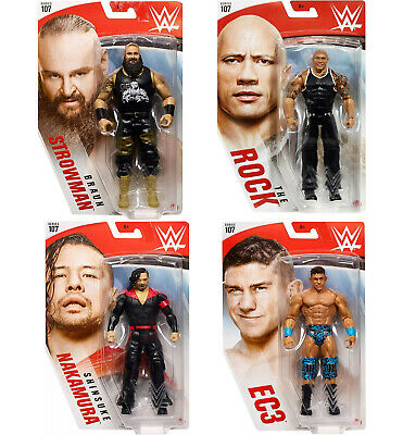 Mattel WWE Wrestling 107 Action Figure (New Boxed) • 17.99£
