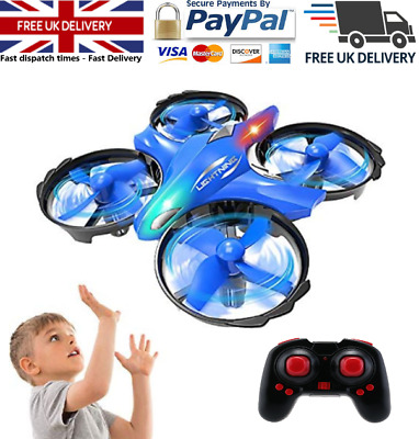 Mini Rc Helicopter Radio Remote Control Aircraft Micro Drone Kids Gift Toy • 17.89£