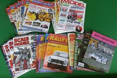 36 X Mixed SCALE MODELS, MODEL COLLECTOR & DIECAST COLLECTOR Magazines • 20£