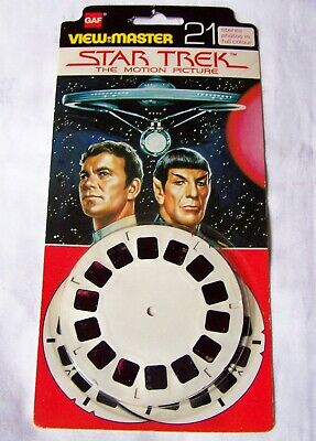 View-master Star Trek The Motion Picture • 12.99£