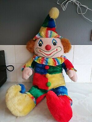 Vintage Cuddle Wit Plush Rainbow Circus Clown Stuffed Toy 25  • 24.99£