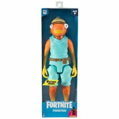 New Official Fortnite Victory Series Fishstick Fish Stick 12  / 30cm Figure • 17.75£